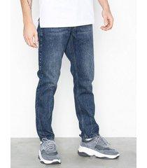 topman cupid rigid taper jeans dark blue