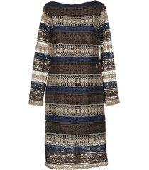 trussardi jeans knee-length dresses