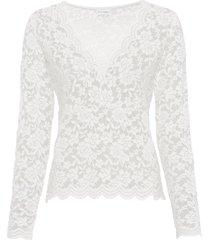 maglia in pizzo (bianco) - bodyflirt