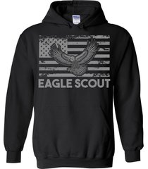 eagle flag scout blend hoodie