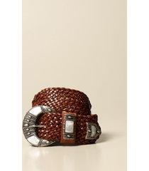 etro belt etro belt in woven leather