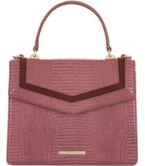 brahmin rose thornfield mini francine satchel
