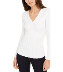inc ribbed pullover sweater, created for macy's