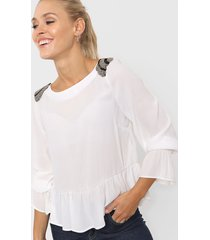 blusa natural asterisco gotemburgo
