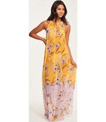 cabana floral maxi dress