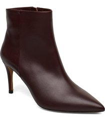 palma shoes boots ankle boots ankle boots with heel brun pura lopez