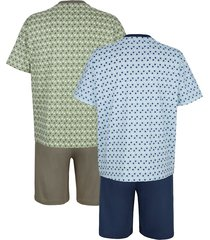 somrig pyjamas roger kent 1 ljusblå, 1 khaki