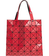 bao bao issey issey miyake lucent matte tote - red