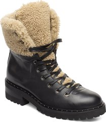 francoise shoes boots ankle boots ankle boots flat heel svart notabene