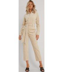 na-kd trend jumpsuit - beige