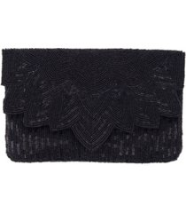 la regale art deco beaded envelope clutch