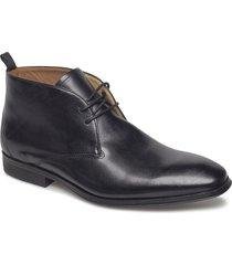 gilman mid desert boots snörskor svart clarks