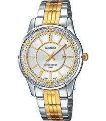 reloj ltp-1358sg7a casio -dorado