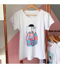camiseta estampada verano