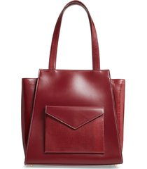 staud wyatt leather tote -