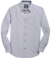 joe joseph abboud repreve® mauve & green glen plaid sport shirt