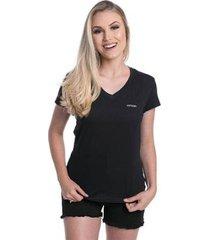 t-shirt osmoze z 10146 preta - preto - p - feminino