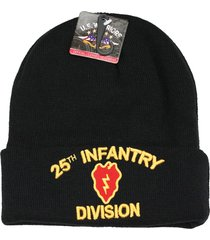 us military beanie hat official licensed headwear (25th infantry division)