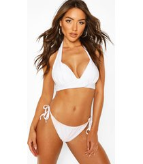 mix & match fuller bust push up top, white