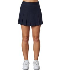 women's nia cannes tennis skort, size large - blue
