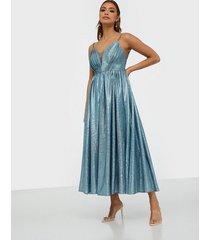 dolly & delicious ocean glitter maxi dress maxiklänningar