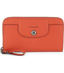 heritage leather continental wallet
