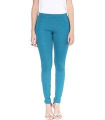 calã§a legging energia fashion azul - azul - feminino - dafiti