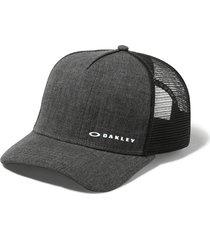 gorra oakley chalten jet black