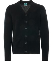 none of the above lambswool pocket cardigan | black | 5885a-blk