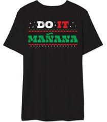 do it manana men's graphic t-shirt