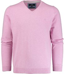 basefield roze v-hals pullover 219013879/606