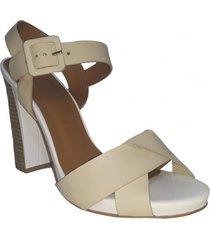 sandalia baka beige we love shoes