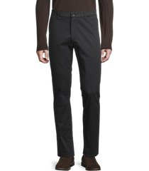 john varvatos star u.s.a. men's lenny skinny-fit chino pants - black - size 34