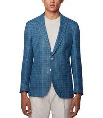 boss men's hartlay2 slim-fit suit