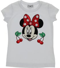 monnalisa cherries print t-shirt