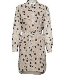 bennington knälång klänning creme fall winter spring summer