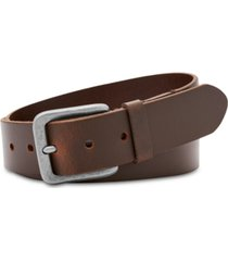 fossil men's otis casual leather belt