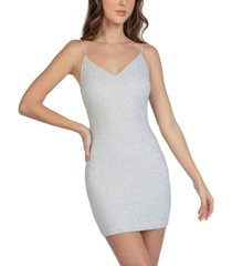 b darlin juniors' glitter sheath dress