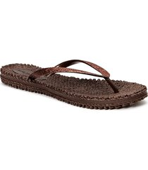flipflop with glitter shoes summer shoes flip flops brun ilse jacobsen