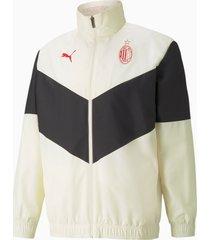 ac milan prematch heren voetbal jas, zwart, maat xxl   puma