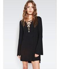 jimi mini dress - l black