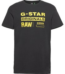 graphic 8 r t s\s t-shirts short-sleeved svart g-star raw