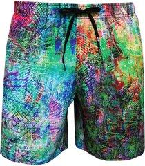 shorts alkary multicolorido
