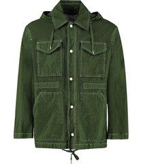 ami alexandre mattiussi multi-pocket jacket