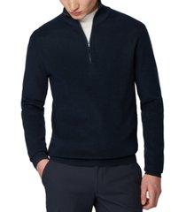 boss men's icarlo dark blue sweater