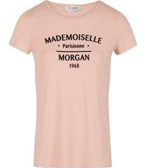 t-shirt korte mouw morgan -
