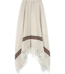 fabiana filippi asymmetric midi-skirt