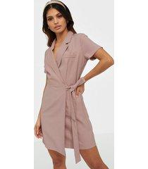 nly trend wrap suit summer dress loose fit dresses