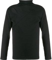 alchemy turtleneck regular-fit sweatshirt - black