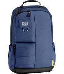 mochila azul cat bruce